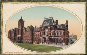 Court House, Winnipeg, Manitoba, Canada, 1900-1910s