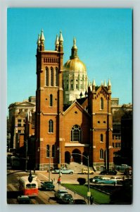 Atlanta GA- Georgia, Georgia State Capital Dome, Vintage Chrome Postcard