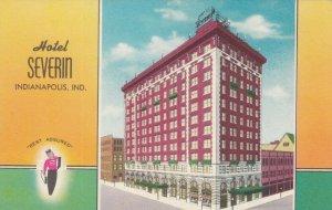 INDIANAPOLIS, Indiana, 1910-30s; Hotel Severin