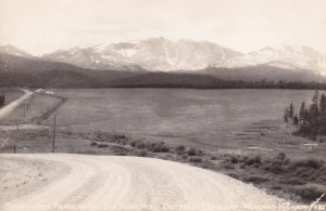 RP; WYOMING, 1930-1940's; Snow-Capped Peaks In The Big Horn Mts., Buffalo-Ten...