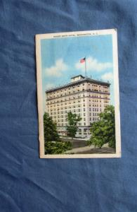Roger Smith Hotel, Washington, DC Vintage Postcard, Historic Building