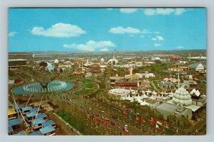 New York City NY, Unisphere, Worlds Fair, Chrome New York Postcard