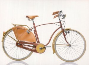 Umberto Die Giubileo Italian Italy 1990s Bicycle Bike Cycle Postcard