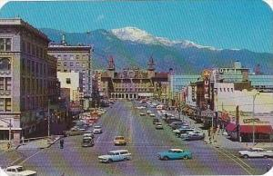 Colorado Colorado Springs Pikes Peak Avenue