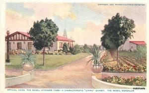 1915 San Diego California Exposition Bungalow Poole Brothers postcard 9768