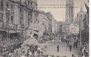 ANVERS, Belgium, 1900-1910´s; Cortege Des Bijoux, Le Char, Exploitalion D'Un...