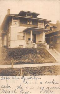 Seattle Washington Historic Home Real Photo Antique Postcard K97214