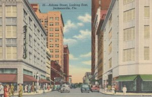 JACKSONVILLE , Florida, 30-40s ; Adams Street