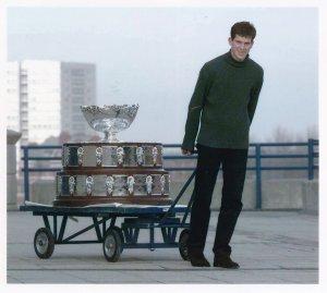 Tim Henman Davis Cup Vs USA 1998 Birmingham Tennnis PA News Press Photo