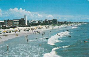 MYRTLE BEACH, South Carolina, PU-1972; Motels along Beach view