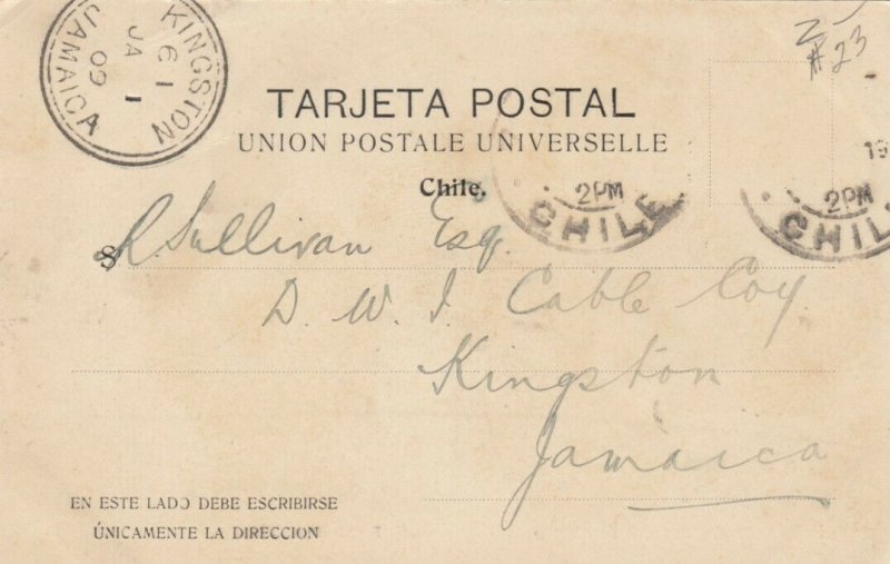 Valparaíso Earthquake, despues del Terremoto , Chile, 1906
