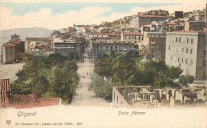 Italy Girgenti Porta Atenea Sicily Sicilia Italia cartolina 1900s