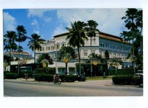 173706 SINGAPORE RAFFLES HOTEL Old photo postcard