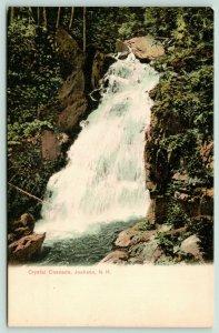 Jackson New Hampshire~Crystal Cascade~c1905 Postcard