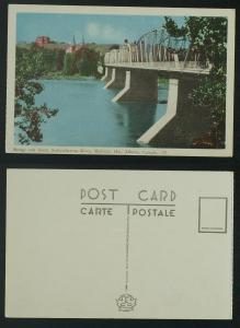Bridge & South Saskatchewan Medicine Hat c 1950