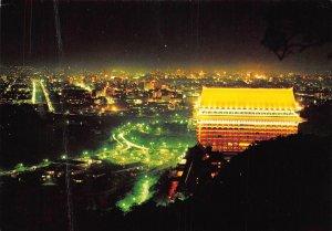 The Grand Hotel Taipei Taiwan Republic of China Panorama Postcard