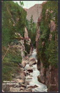 British Columbia Capilano Canyon near VANCOUVER 1900s Und/B Vintage