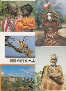 KENYA 173 AFRIQUE Cartes Postales 1960-1980.