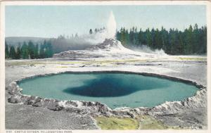 Castle Geyser, YELLOWSTONE Park, Wyoming, 10-20s
