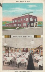 ROBY , Indiana, 1910-20s; Phil Smidt & Son Restaurant