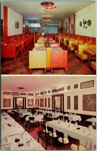 Baltimore, Maryland Postcard Sam Lampe's COLONIAL HOUSE RESTAURANT c1960s