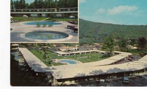 ASHEVILLE, North Carolina, 50-70s, 2-Views, Howard Johnson's Motor Lodge