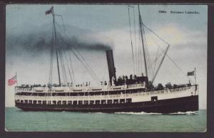 Steamer Cabrillo Postcard