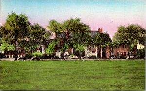 Hand Colored Postcard The Dearborn Inn in Dearborn, Michigan~132624