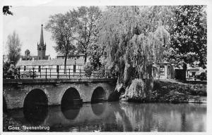 Netherlands (Zuid-Beveland) Goes Steenenbrug Bridge 1948