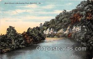 Hannibal, MO, USA Postcard Post Card Mark Twain's Swimming Pool