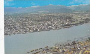 NEW WESTMINSTER, British Columbia, Canada; Aerial View, 40-60s