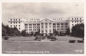 RP: WHITE SULPHER SPRINGS , West Virginia, 1950 ; Greenbrier
