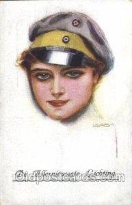 Artist Signed USA bal No. 3796/6 1906 crease left edge, postal used