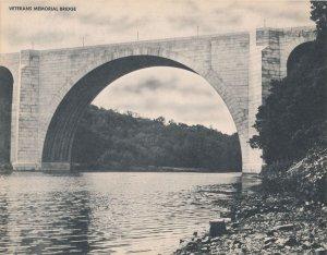 Veteran's Memorial Bridge on Genesee River Rochester NY New York Jumbo Postcard