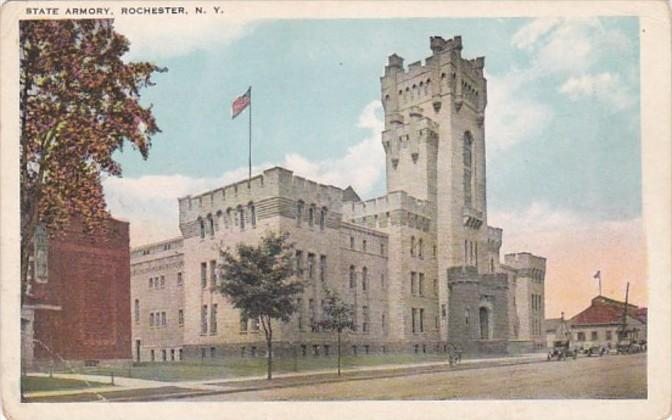 New York Rochester State Armory