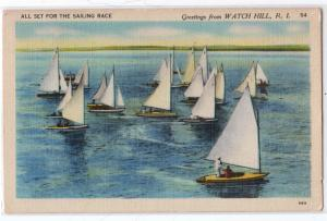 Sailing Race, Watch Hill RI