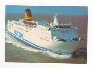 SEALINK St Nicholas Passenger and Car Ferry Boat. 1970-80s