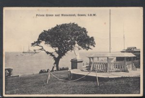 Isle of Wight Postcard - Prince Green and Monument, Cowes   RS18377