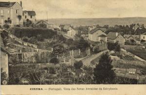 portugal, CINTRA, Vista das Novas Avenidas da Estephania (1910s)