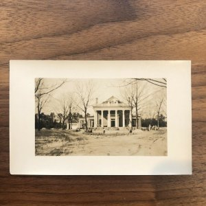 RPPC Baltimore MD Howard Park - RARE - MANSION - VINTAGE - PHOTO - POSTCARD