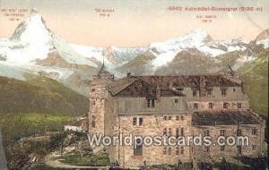 Kulmhotel Gornergrat Swizerland, Schweiz, Svizzera, Suisse Dent Blanche Kulmh...