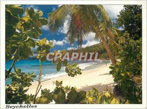 Modern Postcard Seychelles Anse Takamaka Mahe