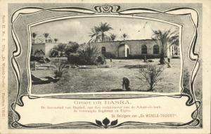 iraq, BASRAH BASRA, البصرة, Partial View (1902) Postcard