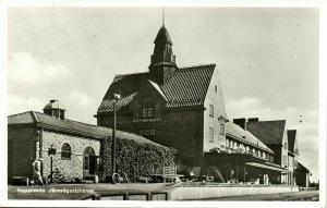 sweden, HAPARANDA, Järnvägsstationen, Railway Station (1961) RPPC Postcard