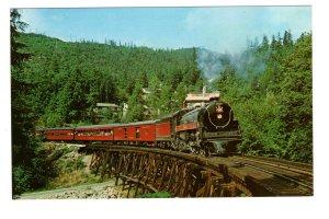 Royal Hudson Railway Train, Near Horseshoe Bay, British Columbia