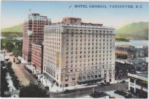 Vancouver , British Columbia, Canada, 1900-1910s ; Hotel Georgia