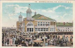 New Jersey Atlantic City Boardwalk And Steel Pier 1920