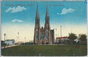 66360 - Polen POLAND - Ansichtskarten  VINTAGE POSTCARD -  WARSAW  Warszawa
