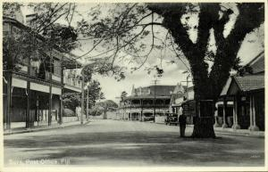 fiji islands, SUVA, Street with Post Office (1930s) Co Operative, No. 124