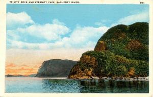 Canada - Quebec, Saguenay River, Trinity Rock, Eternity Cape